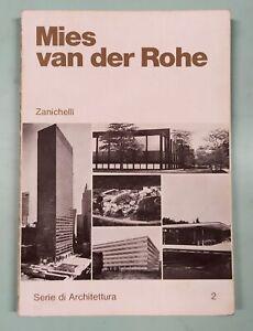 MIES-VAN-DER-ROHE-Werner-Blaser-Zanichelli-1977-1a-edizione