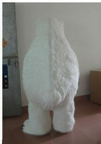 Polar Bear Mascot Costume Halloween High quality Xmas Adult fancy Party Dressing