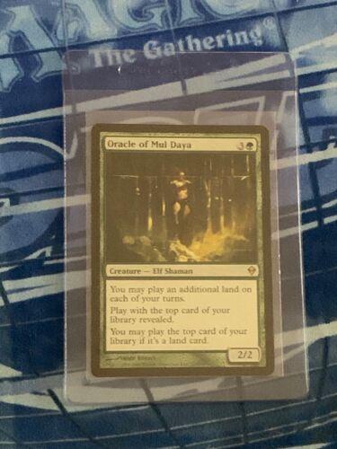 Oracle of Mul Daya Near Mint NEVER PLAYED  Magic Card Zendikar MTG FAST SHIPPING