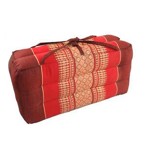 DM24 Red//Maroon Foldable Yoga Cushion