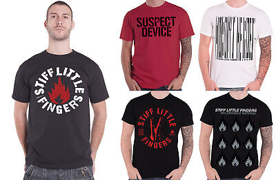 NEW /& OFFICIAL! Stiff Little Fingers /'Suspect Device/' T-Shirt