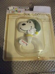 Vintage-Peanuts-Snoopy-Gum-Soother-Baby-Toy-in-Package