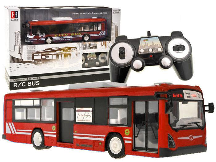 RC autobus bus con telecomando RADIOCOMANDATA Caricabatteria lunghezza 33 cm