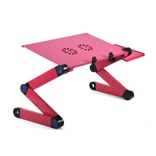 Adjustable Foldable Laptop Stand Lazy Lap Sofa Bed Notebook Desk Table Load 15Kg