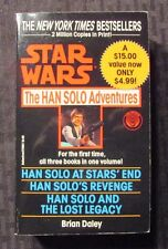 1992 STAR WARS The Han Solo Adventures by Brian Daley Del Rey Paperback VF+