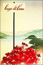 Moto Nautica 1931 Italian Boat Races Lago Di Garda Vintage Poster Print  Art