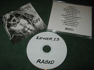 Lower-13-Rabid-cd-cleveland-ohio-USA-private-indy-metal
