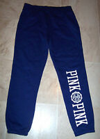 Victoria's Secret Pink Purple Logo Slim Sport Sweats Pants M Md