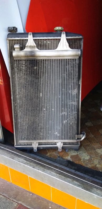 POLO VIVO COMPLETE RADIATOR, CONDENSOR FOR SELL SPARE PARTS 0834266130