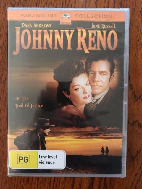 Johnny Reno DVD Region 4 New & Sealed DANA ANDREWS - JANE RUSSELL
