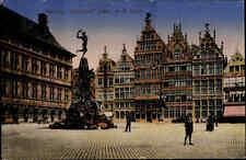 Feldpostkarte 1. Weltkrieg Feldpoststempel Feldpost Anvers Antwerpen Belgien
