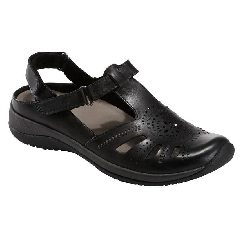 Women's Earth Earth Earth shoes Curie - Black Leather US Sizes da903c