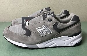 watch 58038 f2e42 Details about New Balance 999 Made In USA Grey Suede Mens Sz 6.5 D/ Women's  Sz 8 M999CGL NEW!!