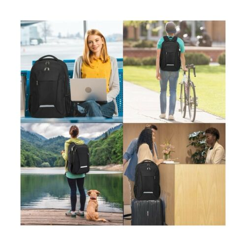 Backpack for Men,Travel Laptop Backpack with USB Charging//Headphone Port,Dura...