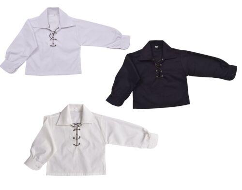 Creme oder Schwarz KINDER Deluxe Ghillie Hemd Kinder Jungen Ghillie Hemd Weiß