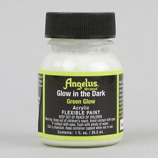 Angelus Leather Acrylic Paint GREEN GLOW IN THE DARK 1oz Bottle YEEZY SOLE