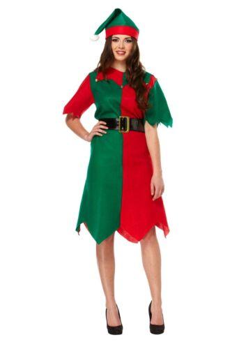 3 di 4 Adulti Elfo Costumi Uomo o da Donna Natale Grotto Party Costume 1ef9891821a