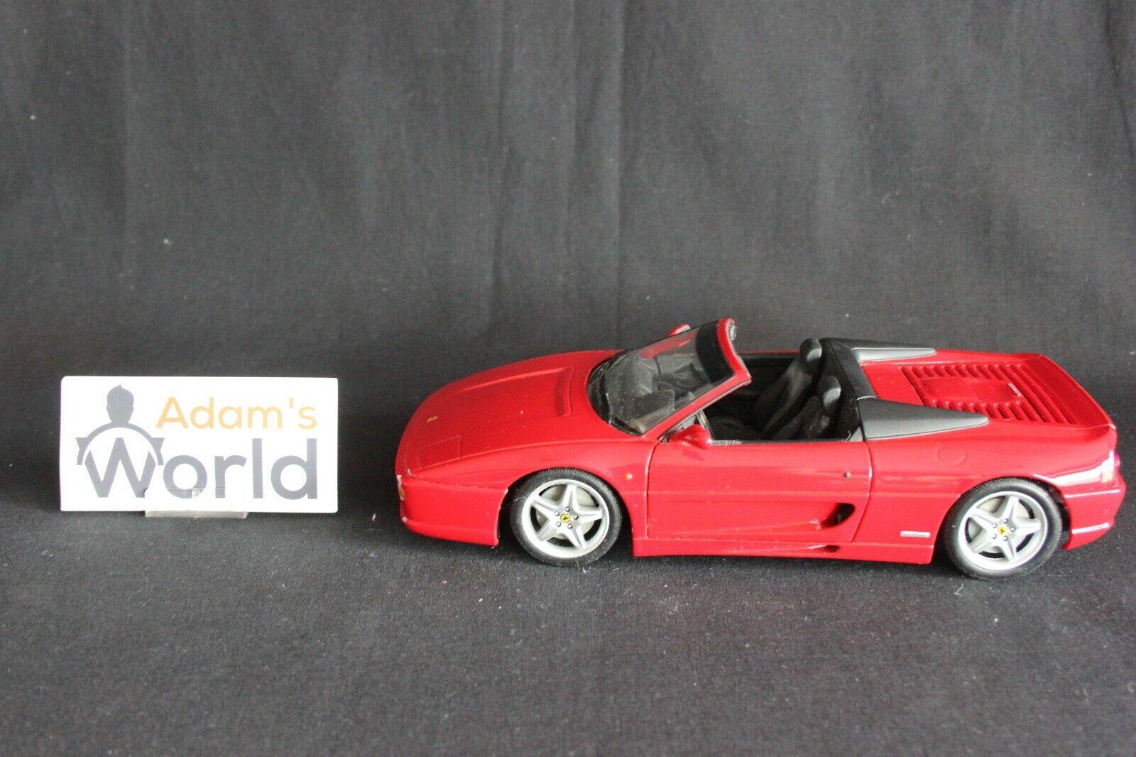 UT Model Ferrari F355 GTS 1:18 red (PJBB)