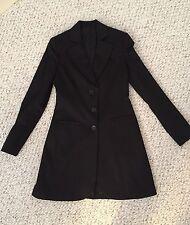 PHARD Tailored Collar Blazer Suit Long Sleeve Jacket Coat Outwear W 42 ITALY