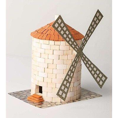 real plaster bricks Wise Elk Windmill construction toy gypsum Windmill 430 pcs