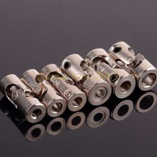 screws Shaft Coupling Motor connector DIY Stainless Steel Universal Joint