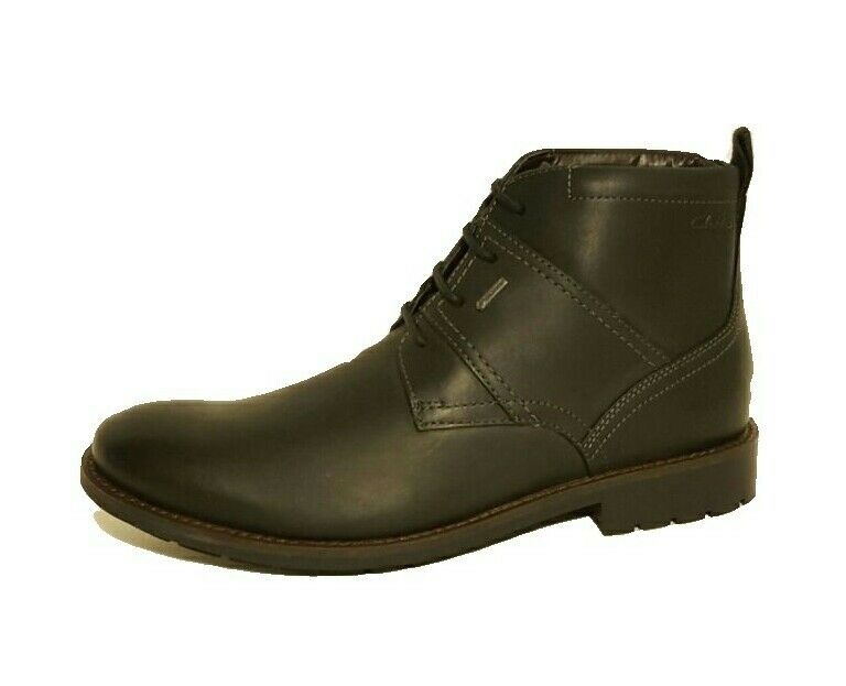 Zapatos de mujer baratos zapatos de mujer Clarks Garnet GTX Gore-Tex Negro Top Cuero Botas Hombre Size 6.5 G