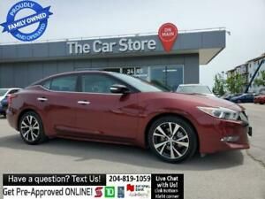 2016 Nissan Maxima Navi LEATHER Sunroof *No Accidents* Rear Cam 1ownr