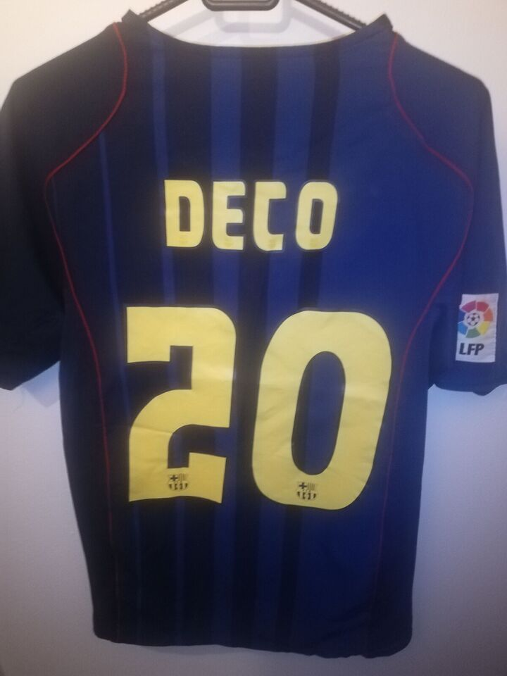 Fodboldtrøje, Deco fc Barcelona trøje, Nike