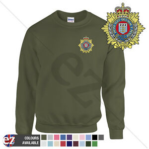 Royal Logistic Corps RLC British Army Embroidered Sweatshirt