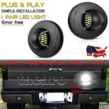 Pair Led License Plate Light Rear Bumper Tag For 1990 2014 Ford F 150 Raptor