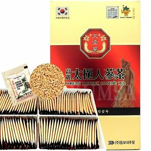 Asian ginseng tea
