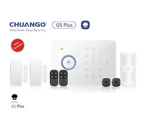 App GSM Alarmanlage CHUANGO G5 Plus Neuware,Basispaket inkl