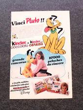 I332-Advertising Pubblicità- 1987 - KINDER & KINDER CIOCCOLATO CEREALI