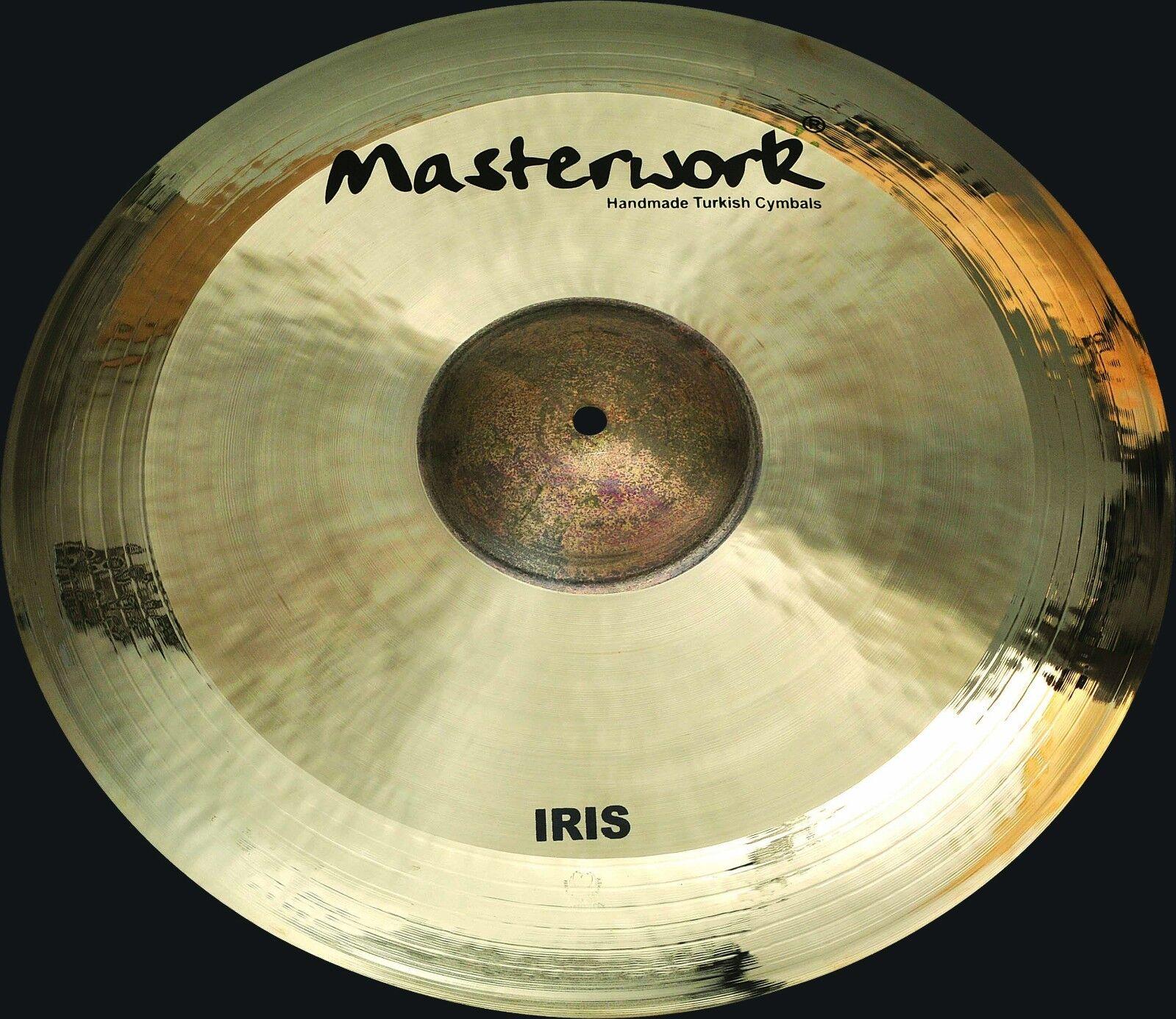Masterwork Cymbals Iris Series  19-inch Iris Ride Extra Thin
