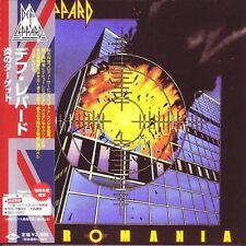 DEF LEPPARD PYROMANIA CD MINI LP OBI  NEXT DAY SHIPPING FROM NY USA!!