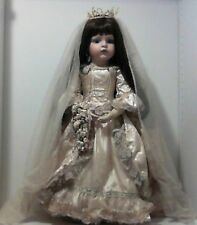 "Patricia Loveless Porcelain Bride Doll ""ISABELLA NICOLE""  ~ With Box ~ RARE"