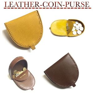 70aae1e3b64a Details about MENS COIN WALLET PURSE COIN CHANGE POUCH TRAY BLACK BROWN  COLOURS COIN PURSE