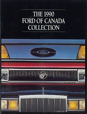 Liberal 1990 Ford Canada Collection Prospekt Brochure Catalogue Englisch Cleaning The Oral Cavity.
