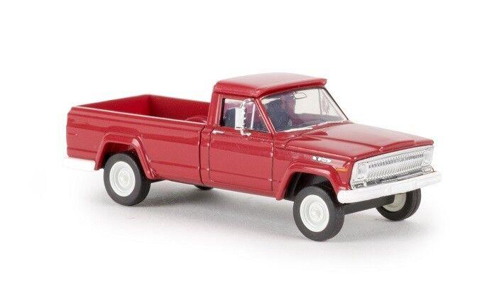 Brekina 19804 19804 19804 - 1 87 Jeep Gladiator B-rojo-nuevo 36ccec