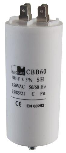 Condensateur 30UF//30MFD 450VAC uni fabricants de pièces de rechange-DG66657