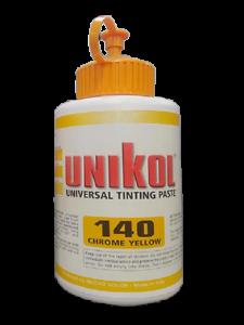 Unikol - colorante universale per prodotti vernicianti - CRHOME YELLOW  500 GR
