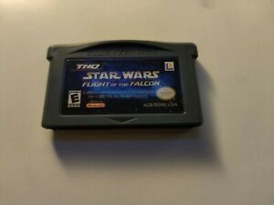 Star-Wars-Flight-of-Falcon-Nintendo-GameBoy-Advance-GBA-AUTHENTIC-FAST-SHIP