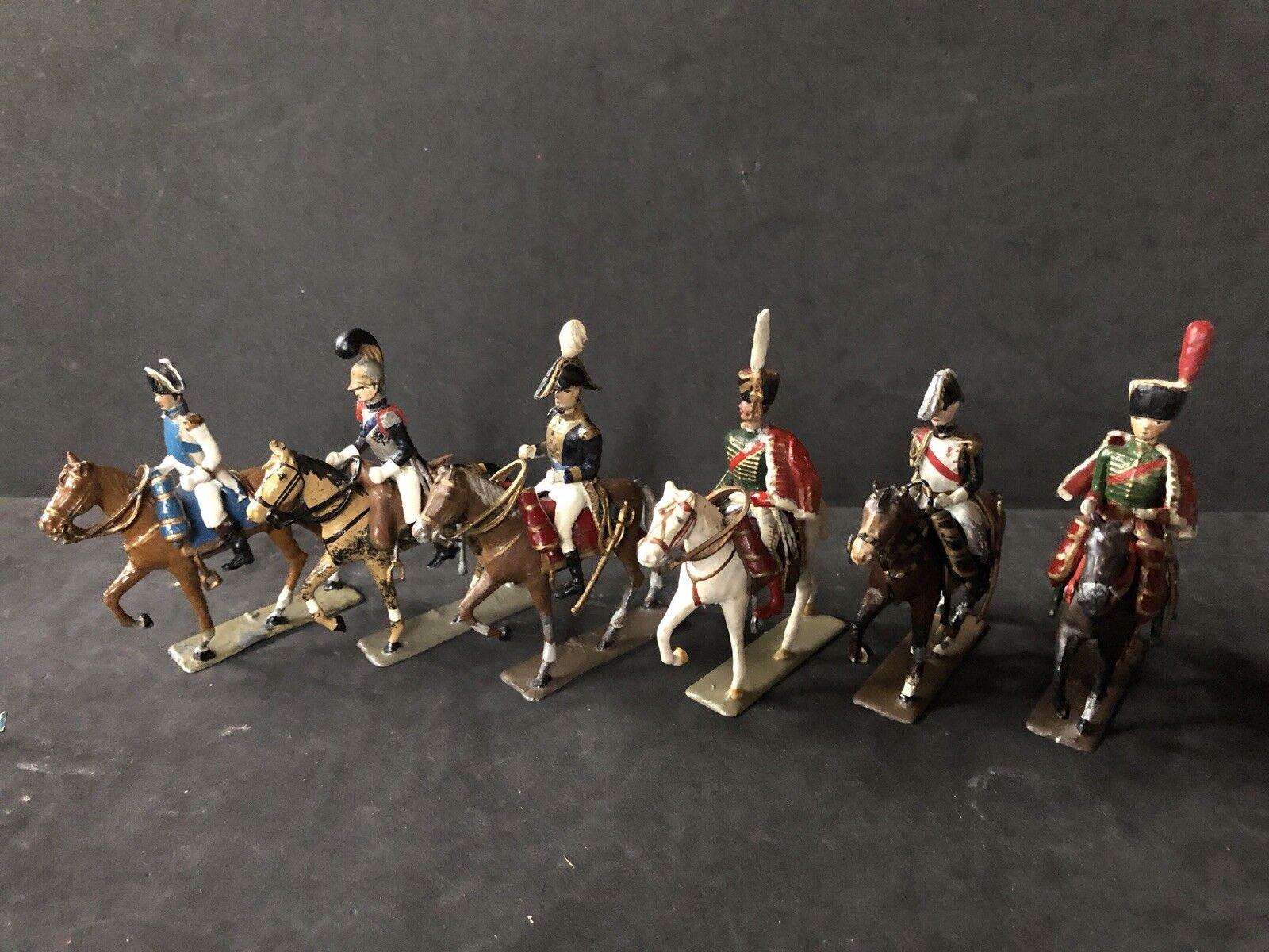 Lucotte-Etat principales un Cheval. Circa 1920 y muy raras figuras de plomo de 54mm.