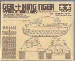 Tamiya King Tiger Separate Track Links in 1/35 165 ST