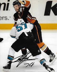 Anaheim-Ducks-Joseph-Cramarossa-Signed-Autographed-8x10-Photo-COA-C