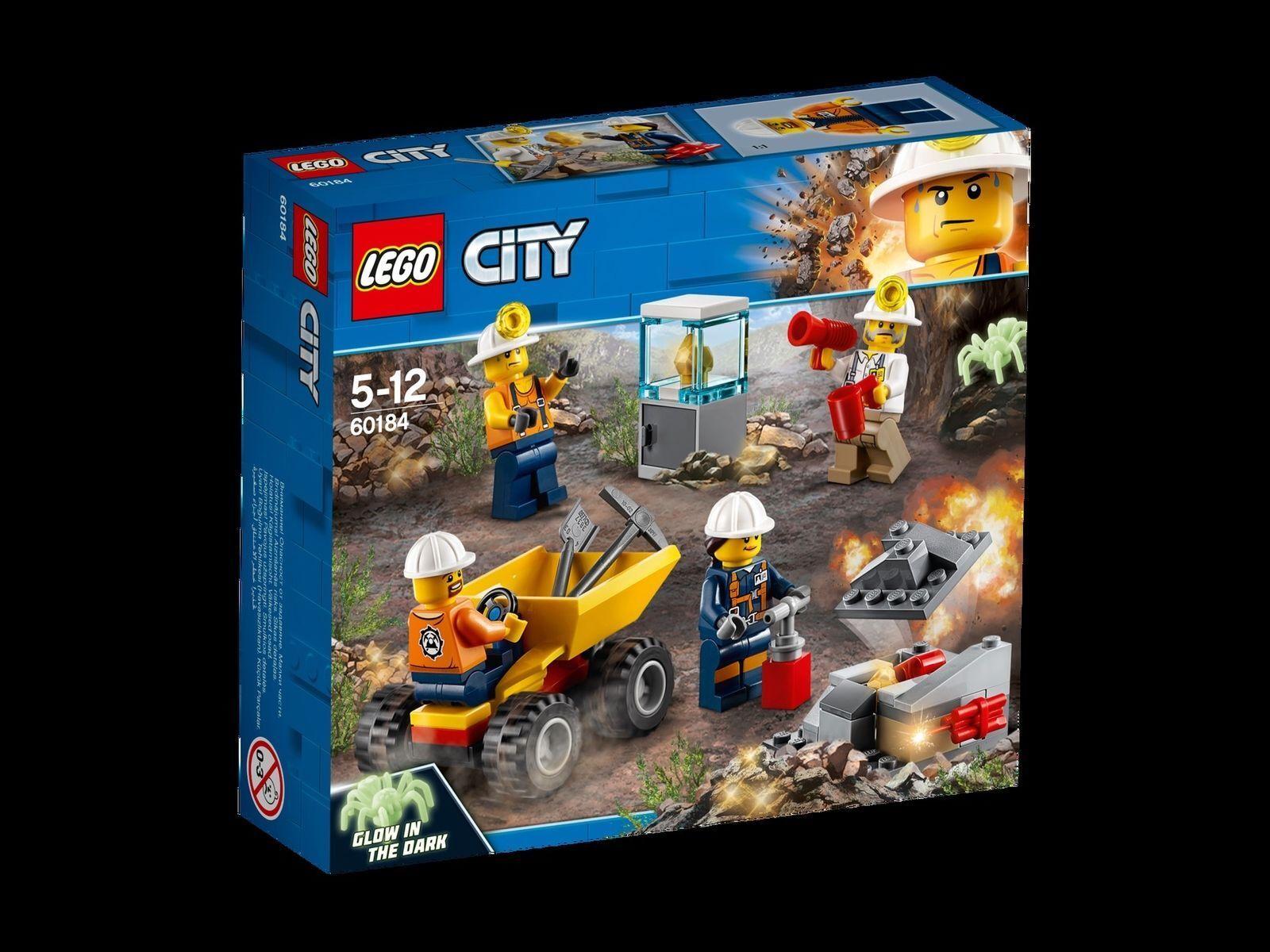 Joyeuses fêtes  Meilleure offre! Lego City bergbauteam 60184, NEUF | De Haute Qualité Et De Bas Frais Généraux