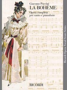 La Boheme Vocal Score NEW 050019940