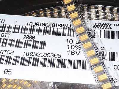 100PCS 16V 47UF 476C A case ±10/% 1206 SMD Tantalum Capacitors 3.2mm×1.6mm NEW
