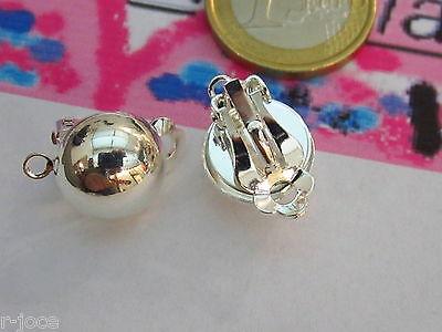 2 copri schiaccino in argento 925 sterling di 4x3,5 mm made in italy