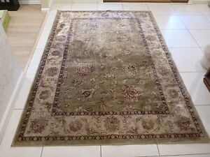 """Wool Rug Traditional Viscose Pile Luxury High Density Soft Touch 5'3""""x7'7"""""""